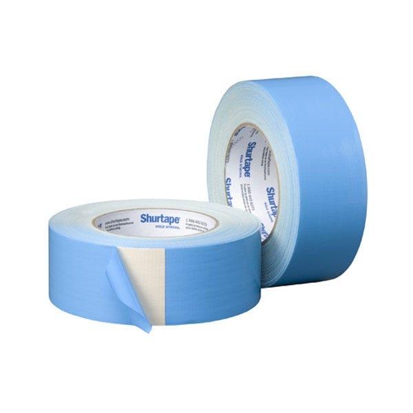 "Shurtape 2"" Carpet Double-Sided Adhesive Tape - Blue"