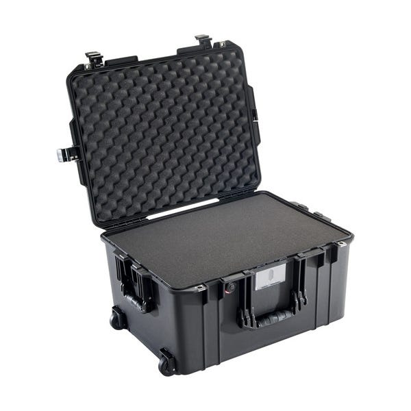 Pelican 1607 Black Air Case - Foam