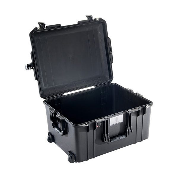 Pelican 1607 Black Air Case - No Foam