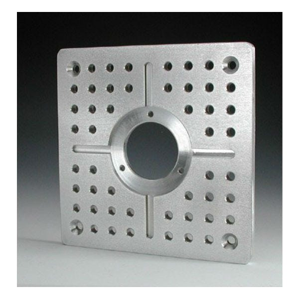"Modern Mitchell Cheese Plate 10""x10""x1/2"""