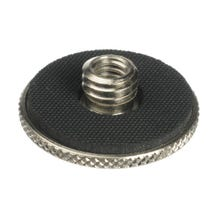 """Manfrotto Female 1/4""""-20 to Male 3/8"""" Thread Adapter w/ 1.18"""" Diameter Flange"""