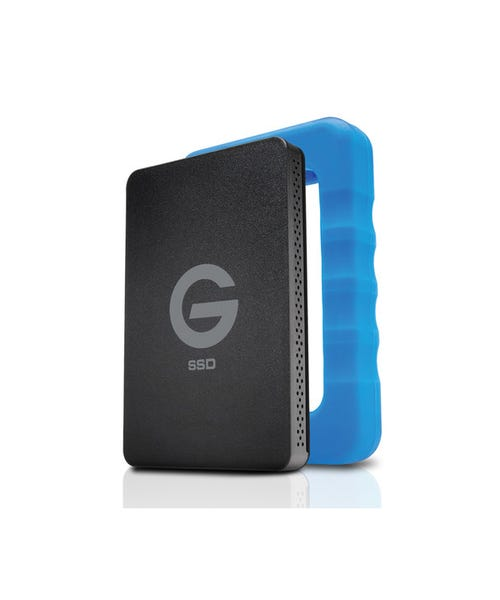 G-Technology 2TB G-DRIVE ev RaW USB 3.0 SSD with Rugged Bumper
