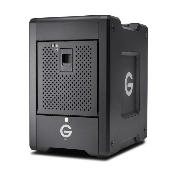 G-Technology 16TB G-SPEED Shuttle SSD 8-Bay Thunderbolt 3 RAID Array