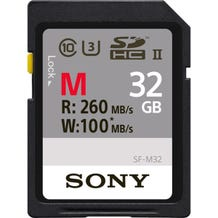 Sony 32GB M Series UHS-II SDHC Memory Card (U3)
