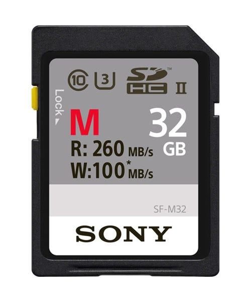 Sony M Series UHS-II Memory Card (U3) - Various Capacities