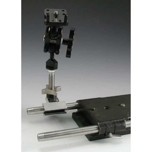 Mini Cardellini with Ultralight Control Systems Monitor Mount
