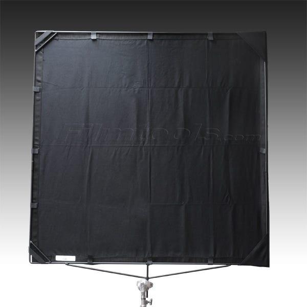 "Matthews Studio Equipment 169197 48x48"" Road Flag Fabric - Solid Black"
