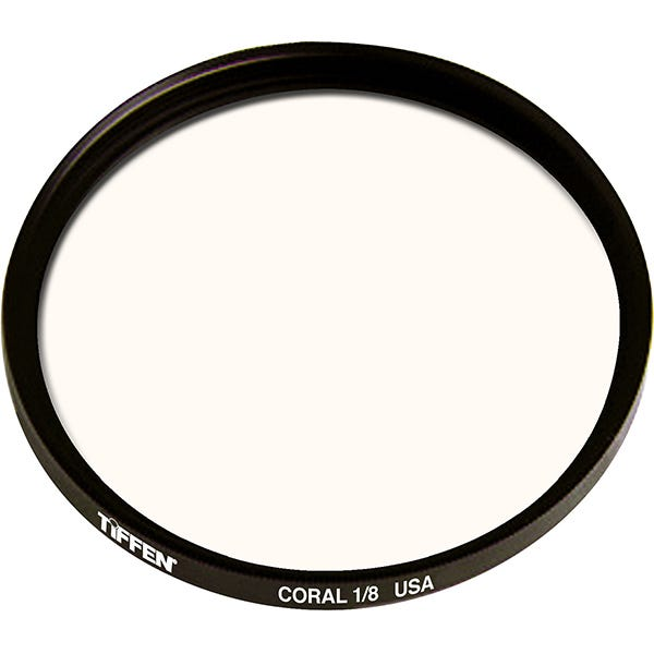 Tiffen  Series 9 Coral Solid Color 1/8 Filter