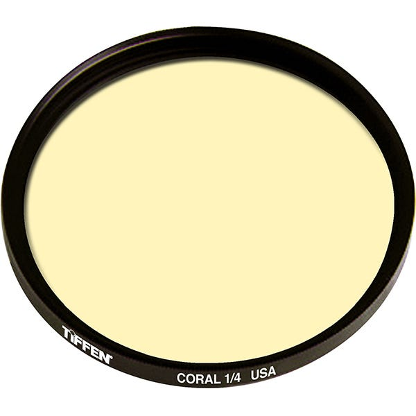 Tiffen  Series 9 Coral Solid Color 1/4 Filter