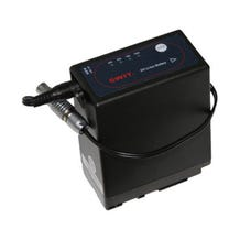 """Teradek BIT 647 Sony NP-F970/F770 Battery Pack with 10"""" Barrel Adapter to 2-Pin Lemo Cable"""