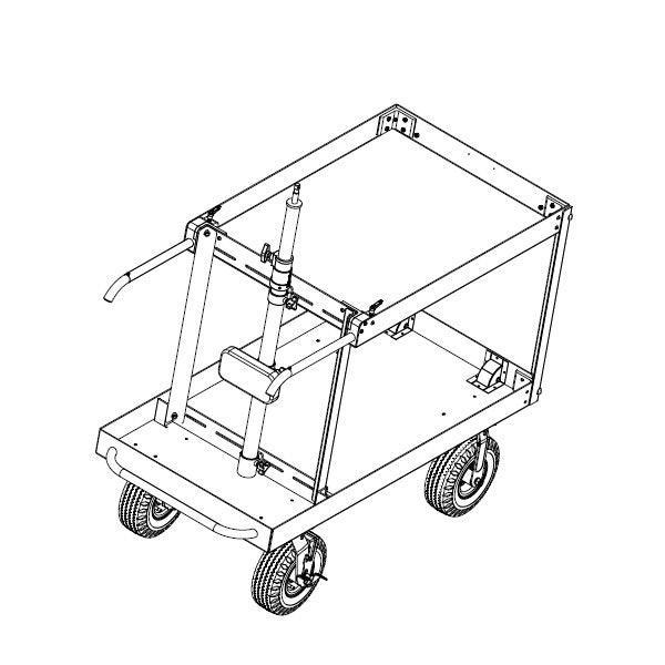 Backstage Collapsible Steadicam Cart Tr 05 El