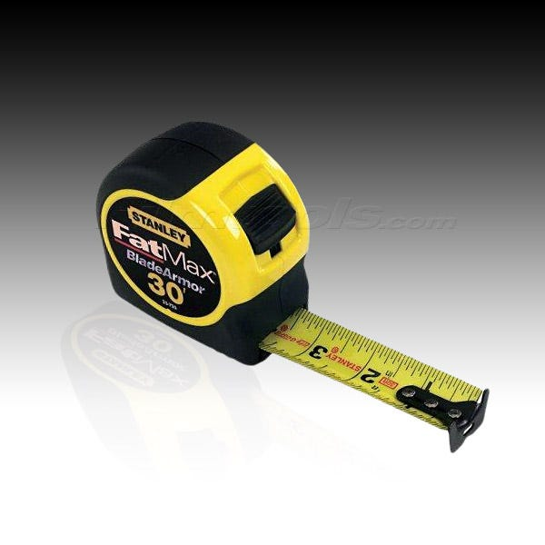 Stanley 33-730 FatMax Tape Measure Rule 33-730 - 30 ft.