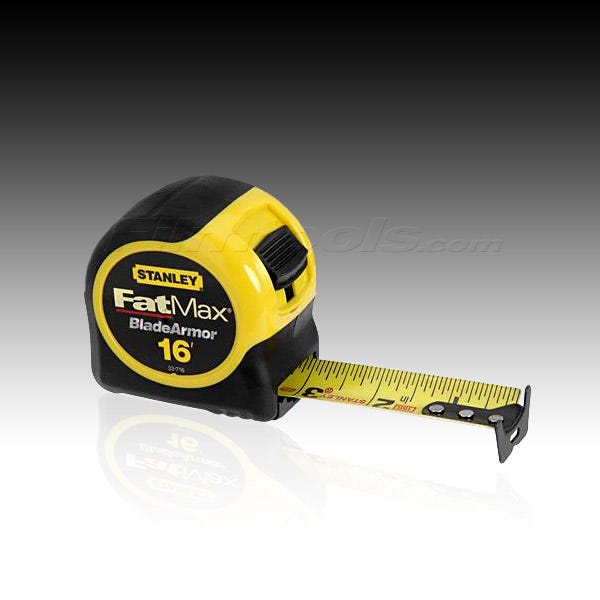 Stanley 33-716 FatMax Tape Measure 33-716 - 16 ft.