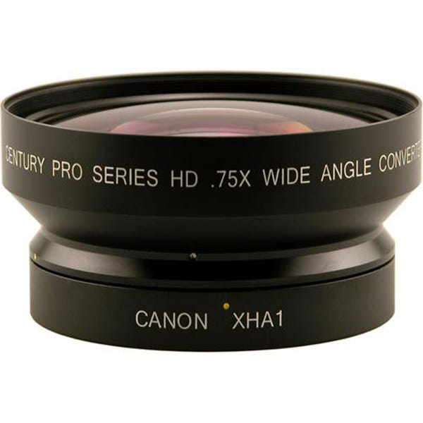 Century .75X Wide Angle Converter Lens HD XL/XH