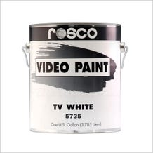 Rosco White TV Paint - 1 Gallon (Ground Only), Mfr #: 150057350128