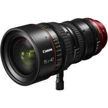 Canon CN-E 15.5-47mm T2.8 L SP/MOD Digital Cinema Zoom Lens - PL Mount with EF Mount Conversion Parts