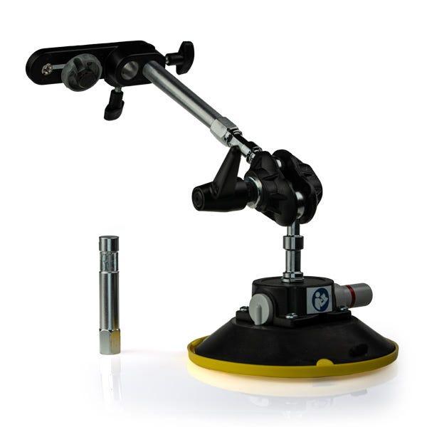 """Gripper 115 XL - The Filmtools XL In-Car Windshield Camera Mount w/ 3.5"""" & 6"""" Rod"""