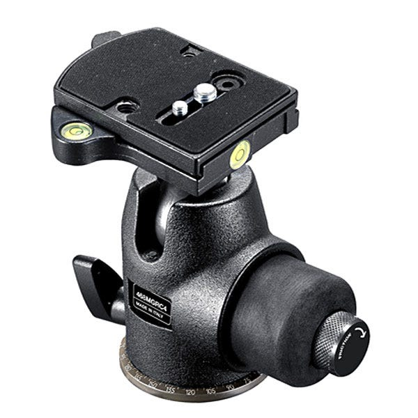 Manfrotto Hydrostatic Ball Head With Rc4 Rapid Connect Plate (410Pl) 468MGRC4