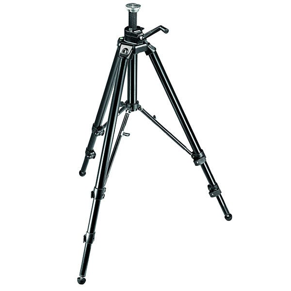 Manfrotto Black Aluminum Pro Geared Tripod W/Geared Column 475B
