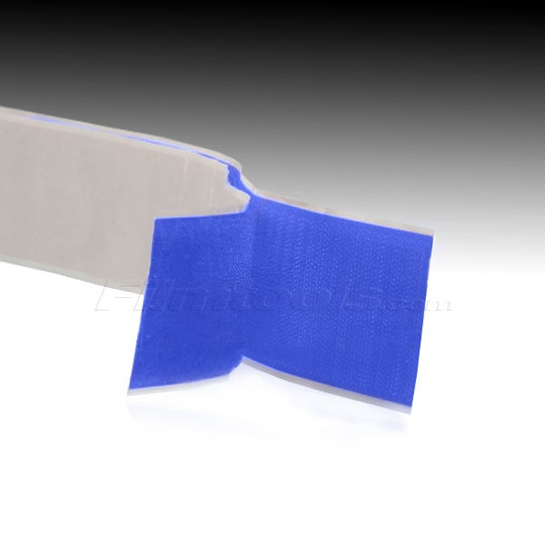 """2"""" Adhesive Backed Hook and Loop - Blue R2006L - R2006H"""