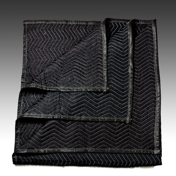 "Filmtools Sound Blanket / Furniture Pad - 78"" x 72"" Heavy Duty Black"