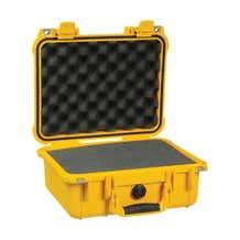 Pelican 1400 Case w/ Foam - Yellow
