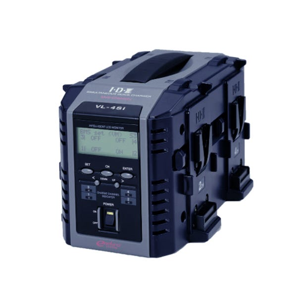 IDX 4-Channel Fully Simultaneous Quick Charger, With Intelligent Display  VL-4SI