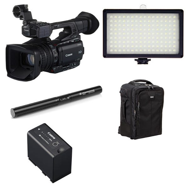 Canon XF205 ENG Backpack Kit