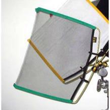 "Matthews Studio Equipment 149010 18x24"" RoadRags Single Black Scrim Fabric"