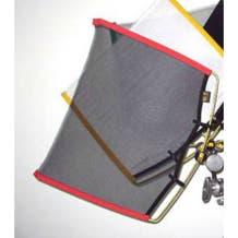 "Matthews Studio Equipment 149013 18x24"" RoadRags Double Black Scrim Fabric"
