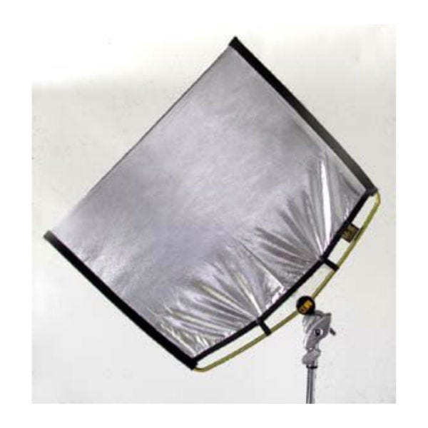 "Matthews Studio Equipment 149016 18x24"" RoadRags Silver Lame Reflector Fabric"