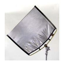 "Matthews Studio Equipment RoadRags II 24"" x 36"" Silver Lame Reflector 149007"