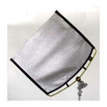 "Matthews Studio Equipment 149004 24x36"" RoadRags II Silver Matthflector Fabric"