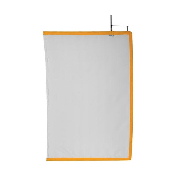 "Matthews Studio Equipment 24 x 36"" Open End Scrim - White Artificial Silk"