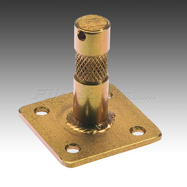 "Modern Nail-On Plate for 5/8"" Fitting"