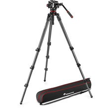 Manfrotto 504X Fluid Video Head with 536 Carbon Fiber Tripod