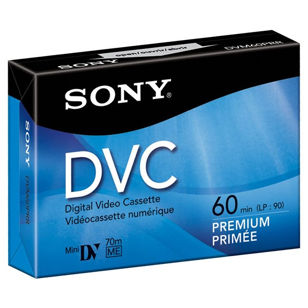 Sony Mini DV Tape 60 minutes