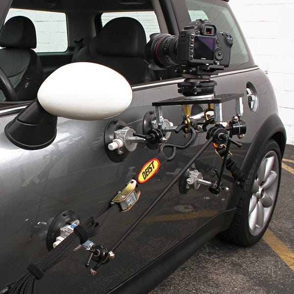 Filmtools Teenie Weenie 4-Cup Car Camera Mount - Kit Only