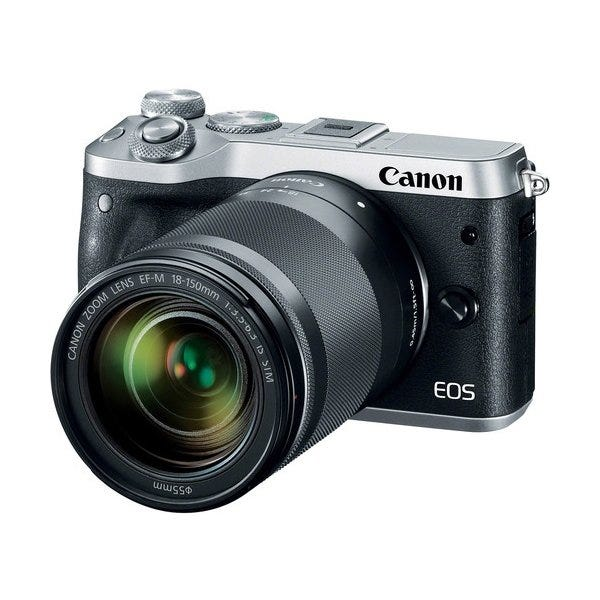 Canon EOS M6 Mirrorless Digital Camera with 18-150mm Lens (Various)