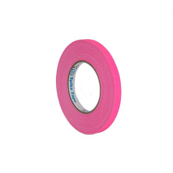 "Pro-Gaff 1/2"" Gaffer Tape (Cloth Spike Tape) - Pink"