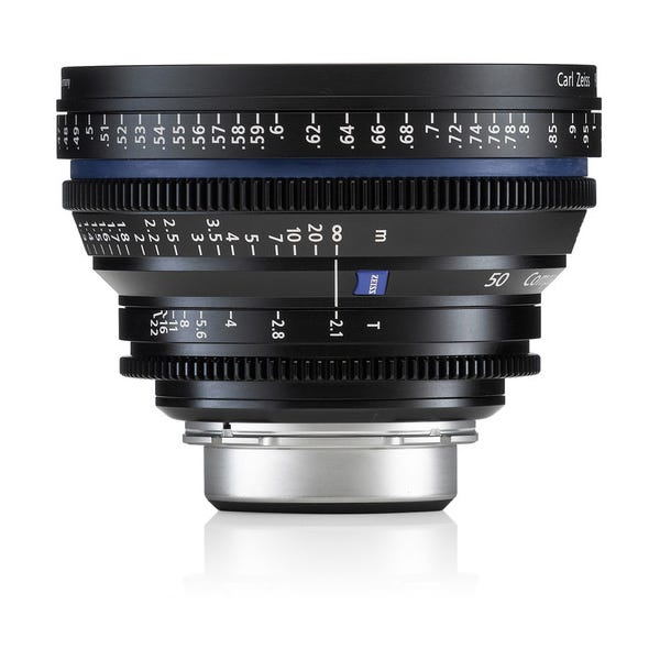 Zeiss Compact Prime CP.2 50mm/T2.1 Cine Lens for PL Mount