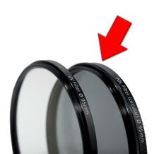 Carl Zeiss T* 95mm Filter - Circular Polarizer