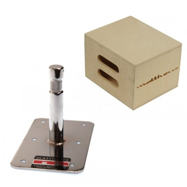 "Matthews Studio Equipment Full Mini Apple Box w/ Baby Plate - 3"""