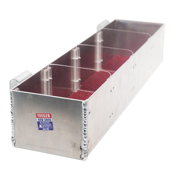 Yaeger Trough with Dividers for Junior Cart