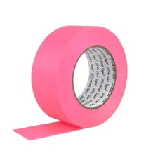"""ProTapes 2"""" Paper Tape - Fluorescent Pink"""