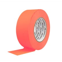 "ProTapes 2"" Paper Tape - Fluorescent Orange"