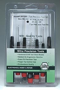 Wiha Precision Hex Driver Set (7) METRIC