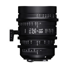Sigma 18-35mm T2 High-Speed Zoom Lens (EF Mount)