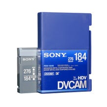 Sony PDV-184N DVCAM 184min Digital Video Tape Cassette Recorder without IC Memory Chip