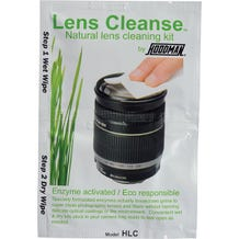 Hoodman HLC12 Lens Cleanse Natural Enzyme Activated Lens Cleaning Kit - 12pk.
